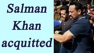 Salman Khan acquitted in Arms act case by Jodhpur case..