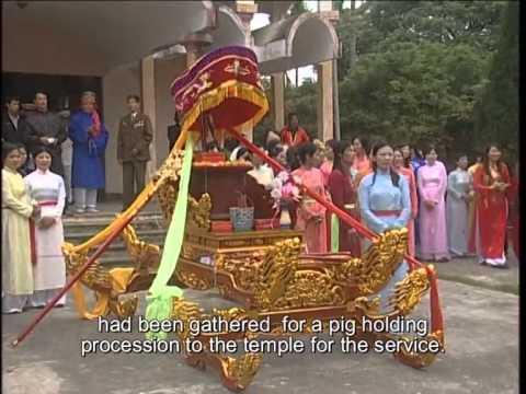 Lễ hội chạy lợn làng Duyên Yết - Kênh TV Du lịch Văn hóa lễ hội truyền thống VN