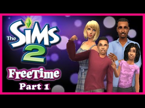 Let's Play | The Sims 2 Freetime [Part 1] - Money Is Tight!! - w/Commentary