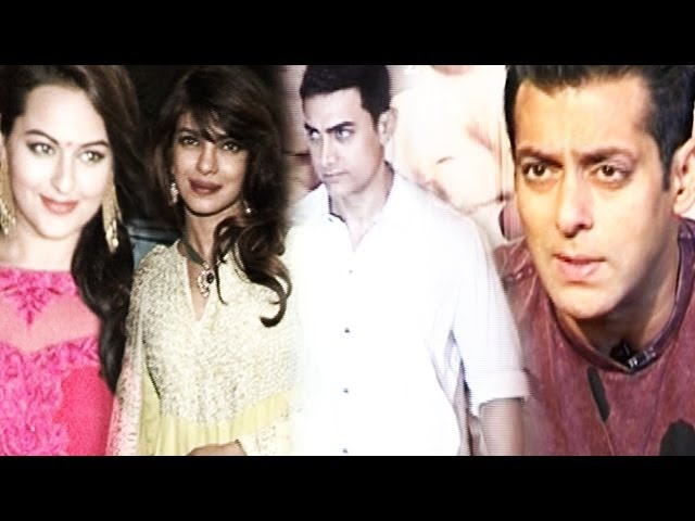 Salman Khan left alone by Bollywood? | Aamir Khan, Priyanka Chopra, Sonakshi Sinha & others