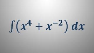 Nedoločeni integral 1