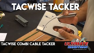 Tacwise combi cable tacker review