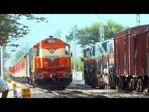 BANGALORE RAJDHANI  EXPRESS via DHONE 22694  Indian Railways