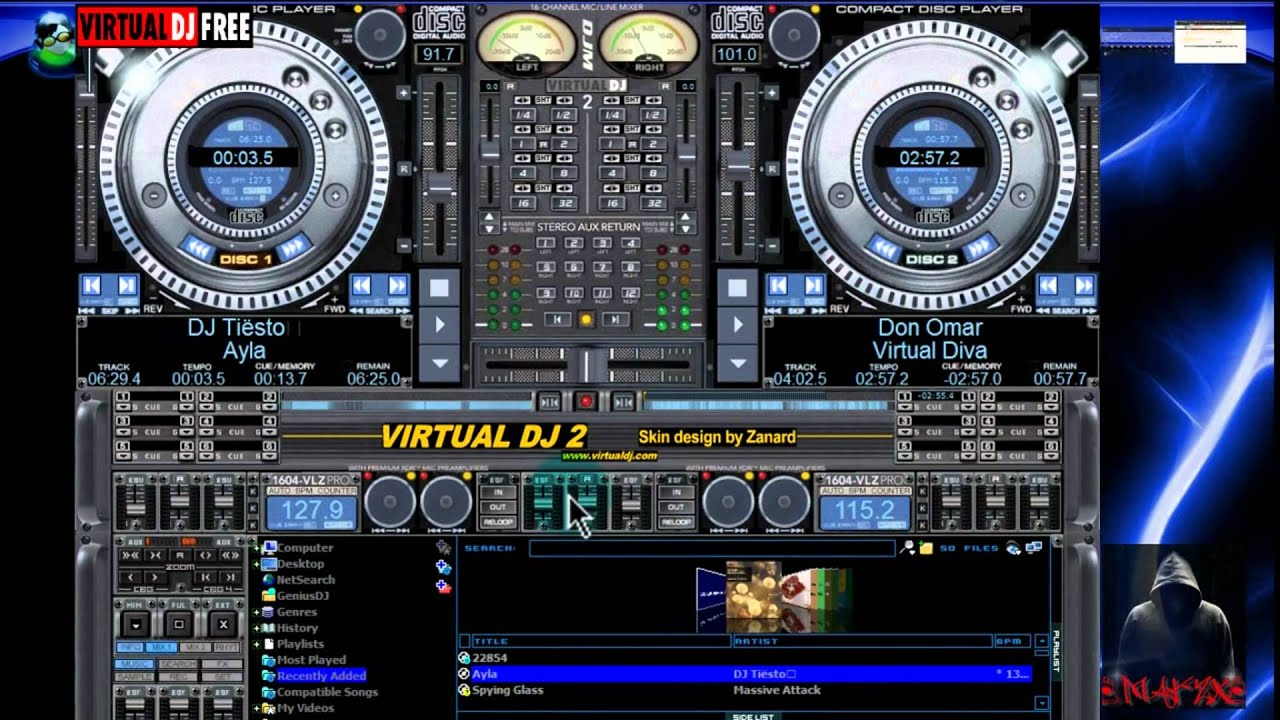 Descargar virtual dj home 7 megaupload full version free for Virtual home software