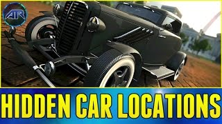 The Crew Online : MIDWEST HIDDEN CAR LOCATIONS!!! (How To