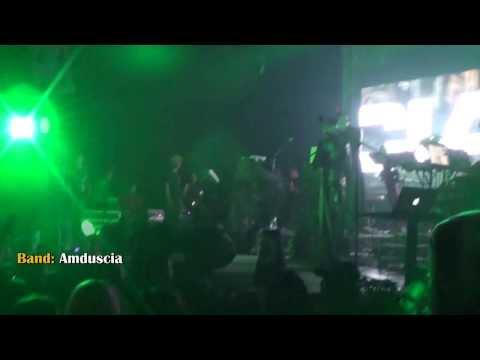 Amduscia -  Impulso Biomecanico - Orus Fest 2013 - Foro Reforma, México City