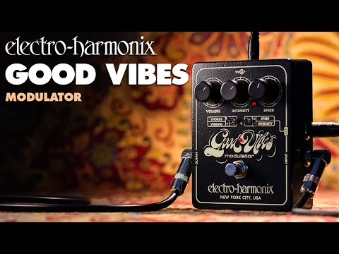 Electro Harmonix Good Vibes Chorus & Vibrato Effects Pedal for Guitar