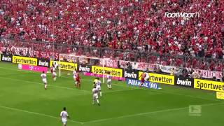 Top 10 goals of the Bayern München 2013-2014