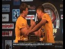 1st match - Denis Cyplenkov VS John Brzenk - World of Armwrestling.com