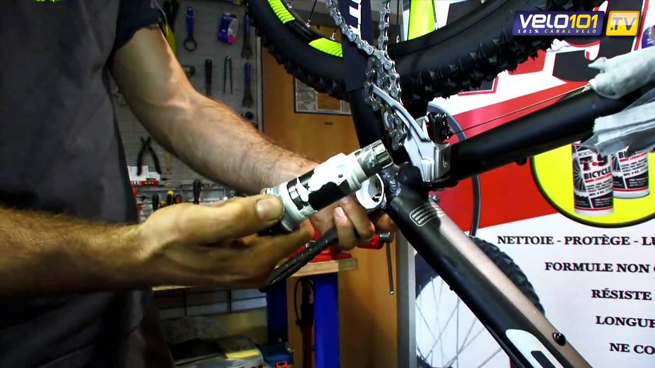 Lubrifiant Vélo T9   Leçon de mécanique   Monter un boîtier de pédalier Octalink