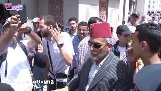 أقوى تصريح من مسيرة الرباط التضامنية مع حراك الريف..شوفو أشنو قال مواطن مغربي بكل حرقة | خارج البلاطو