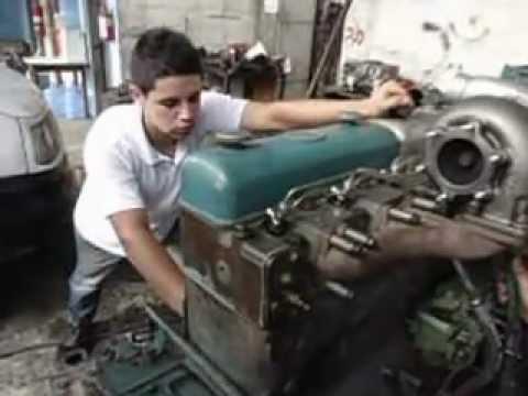 montagem de motor mecanica diesel dois irmãos scania 113 dsc 11