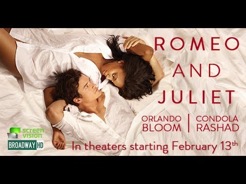 Romeo and Juliet  BroadwayHD Promo Clip (Orlando Bloom)