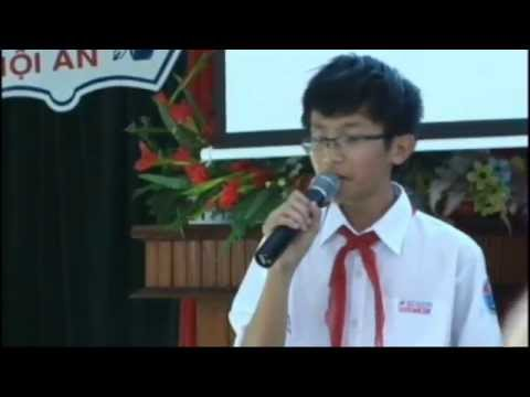 Hùng biện tiếng Anh- Học sinh Bùi Kiến Đức Thành phố Hội An.