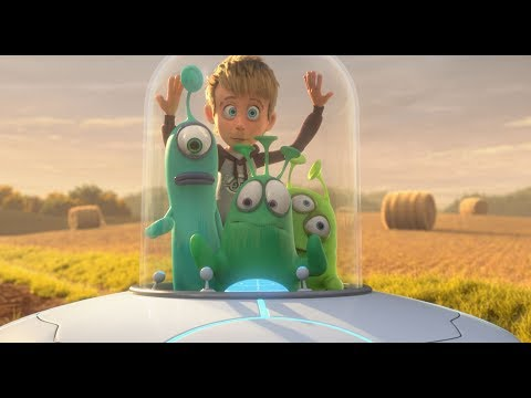 Příšerky z vesmíru - trailer na filmový animák