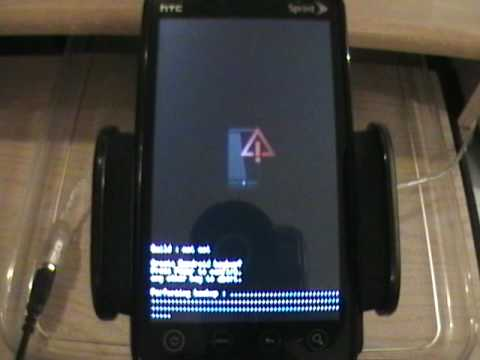 HTC EVO 4G from Sprint - How to Root, Recovery, Backup, Wipe, Custom Rom