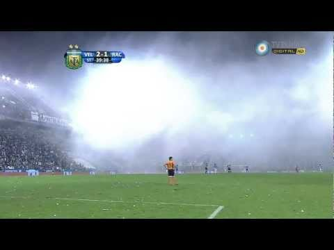 Bengalas hinchada racing vs Velez HD