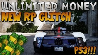 "GTA 5 ONLINE: NEW UNLIMITED MONEY AND UNLIMITED RP ""METHOD"" / ""GLITCH"" *INSANE RP* (GTA V RP GLITCH)"