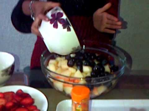 Noshaba's Fruit Salad Recipe