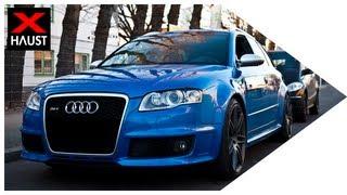2012 Audi RS4 videos