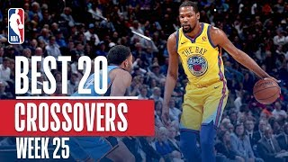 Best 20 Crossovers From Week 25 of the NBA Season (James Harden, Bradley Beal, KD and More!)