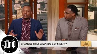 Paul Pierce dishes on former Wizards teammates John Wall and Bradley Beal | The Jump | ESPN