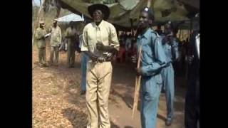 Traditional South Sudanese Pojulu Dance (Jumping)