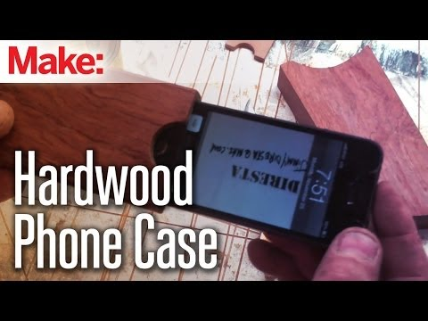 Diresta: Hardwood Phone Case