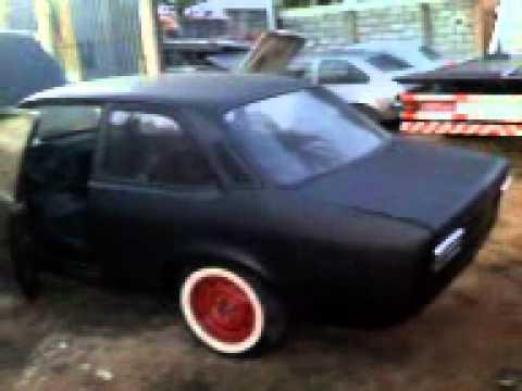chevette tubarão 1974 preto fosco acertando motor