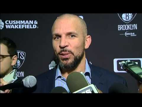 Brooklyn Nets head coach Jason Kidd on his team's loss to the Charlotte Bobcats