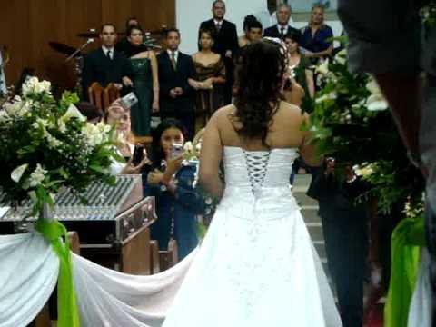 Primavera Aline Barros - Cantado pela Noiva na entrada da Igreja