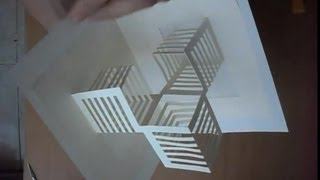 14 How To Make An Amazing Cubes Pop Up Card, Origamic Architecture