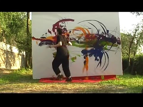 Action Painting, Cinzia Fiaschi in Bellanima Pictura (2-3)