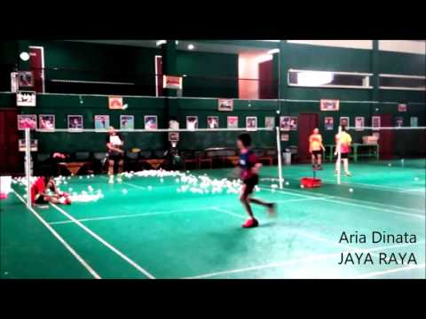 Badminton Training 2015 - Footwork and Stroke Training