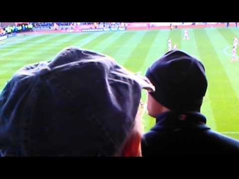 Stoke v Arsenal 1-0 Walters Penalty