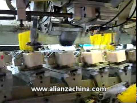 Maquina para fabricar Escoba GS 135