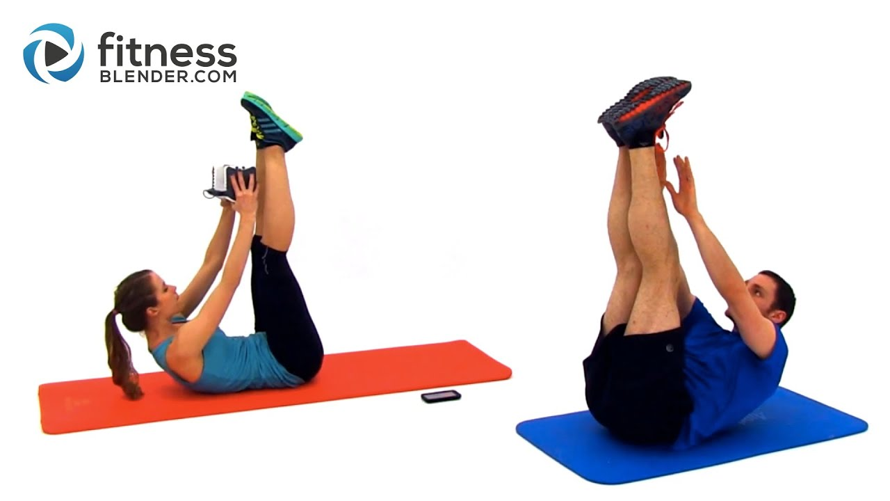 Tabata Kettlebell Workout + Abs and Obliques Workout