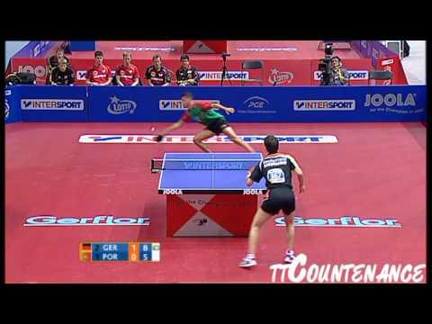 European Championships: Timo Boll-Tiago Apolonia