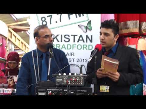 THE IMMIGRANT BOOK BY SYED KASHIF SAJJAD INFORMATION EVENT BRADFORD FM BRADFORD PAKISTAN RADIO 2