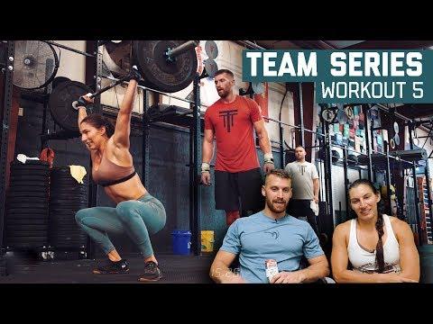 2018 CrossFit Team Series Workout 5 Mia Gianelli & Kyle Ruth