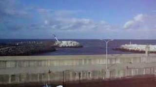 Obras no porto de Puerto Vega 4