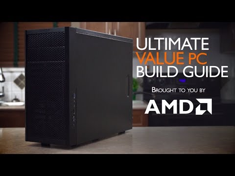 "ULTIMATE AMD Value APU PC Computer ""How To"" Build Guide"