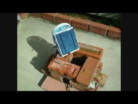 diy solar rechargeable personal fan with 5 v 500ma solar panel