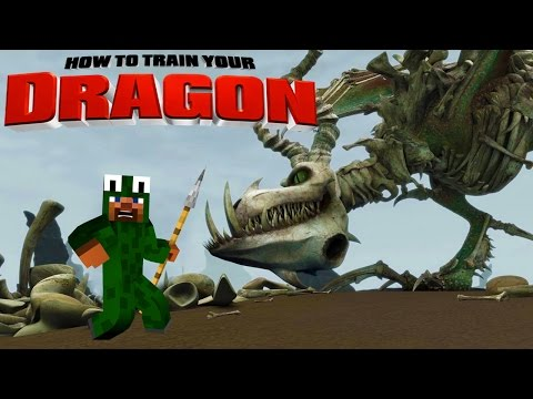 Minecraft - HOW TO TRAIN YOUR DRAGON 2 - [6] 'Boneknapper Island?'