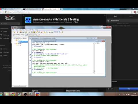 TwitchTV Chat Bot - Setting up Mirc and making a quote script