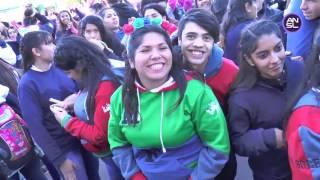 En el Año de la Juventud, los chicos festejaron tras el desfile - Parte I