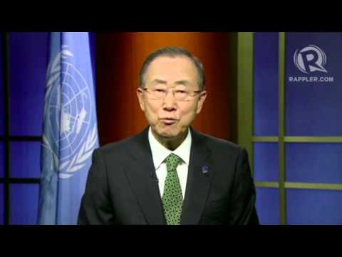 Ban Ki-Moon at Closing Plenary of summit vs sexual violence in conflict
