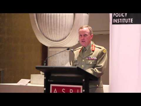 Future challenges - Chief of Army speaks to ASPI