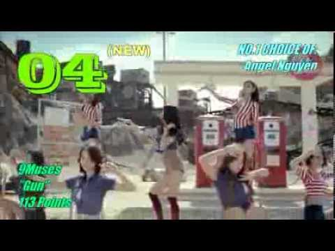 MLD K-Pop Weekly Top 10 (100% Fan Votes) (October Week 3 2013)(Week 42)
