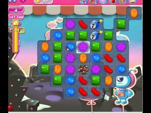 candy crush Level 97*No boosters 3 star - YouTube